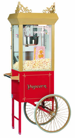 Gold Medal Products Co. Popcorn Machine Cart, Red from Ace Mart