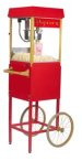 FunPop 4 oz. Popcorn Machine on red cart